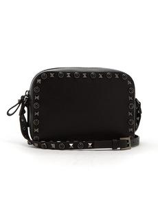 Valentino Rolling Rockstud camera leather cross-body bag