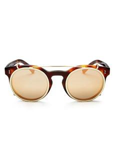 Valentino Women's Round Sunglasses, 45mm