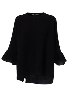 Valentino Ruffled Cuffs Sweater