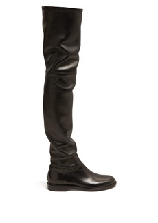 Valentino Shadows over-the-knee leather boots