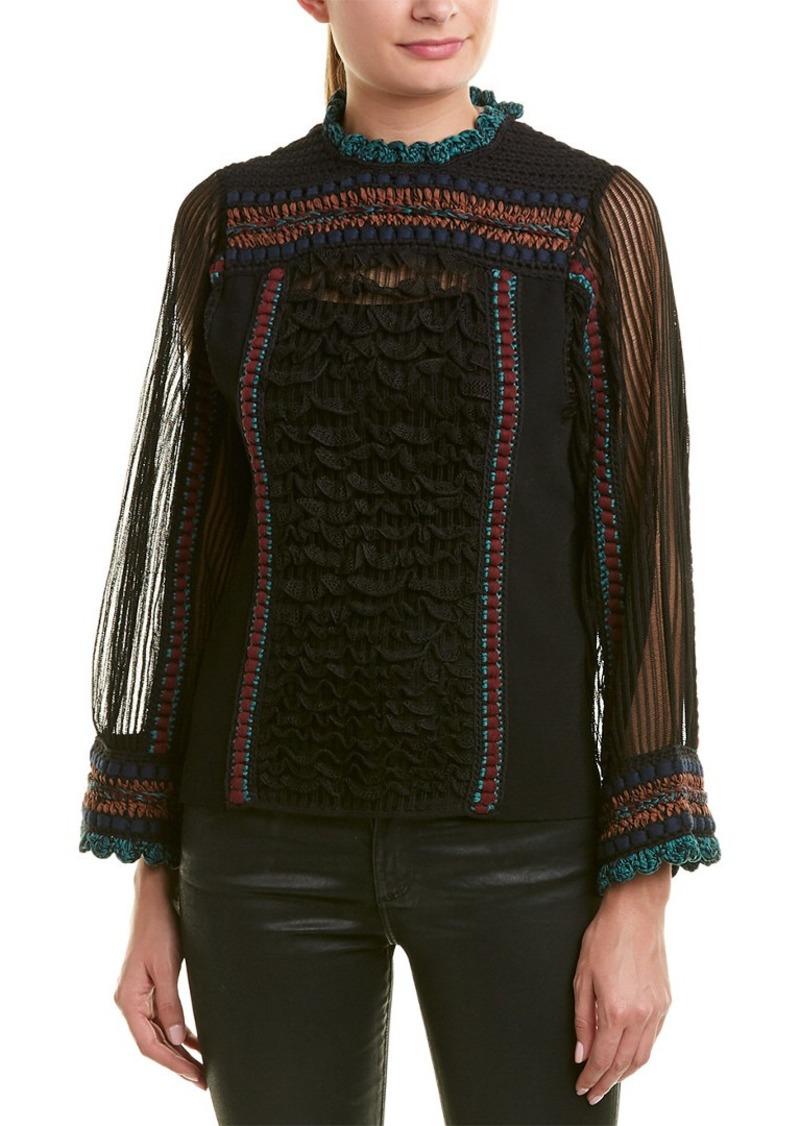Valentino Silk Knit Top