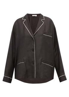Valentino Silk pyjama blouse