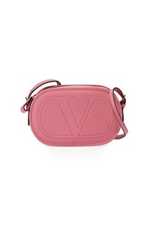 Valentino Smooth Logo Crossbody Bag