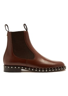 Valentino Soul leather chelsea boots