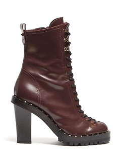 Valentino Soul Rockstud leather ankle boots