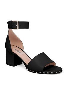 VALENTINO GARAVANI Soul Rockstud Leather Ankle-Strap Sandals