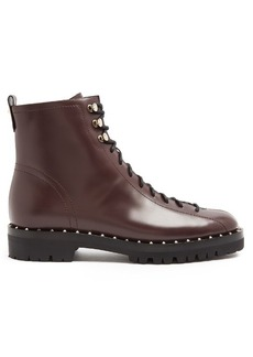 Valentino Soul Rockstud trek-sole leather ankle boots