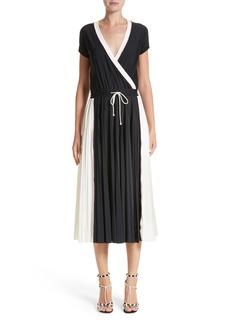 Valentino Sport Jersey Midi Dress