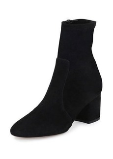 Valentino Stretch Suede 60mm Bootie