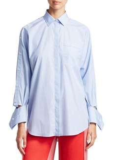 Valentino Striped Cotton Shirt
