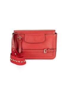 VALENTINO GARAVANI Stud Leather Shoulder Bag