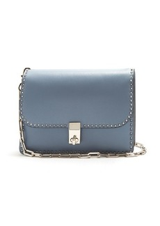 Valentino Stud Stitching leather cross-body bag
