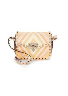 VALENTINO GARAVANI Studded Leather Shoulder Bag