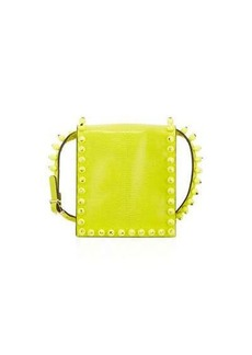 Valentino Garavani Studded Lizard-Embossed Mini Bag