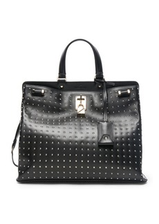 Valentino Studded Piper Handle Bag