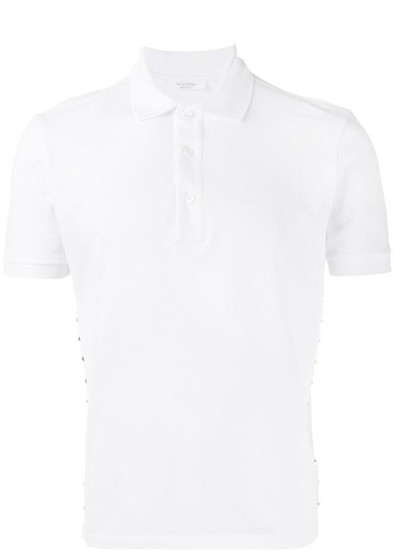 Valentino studded polo shirt