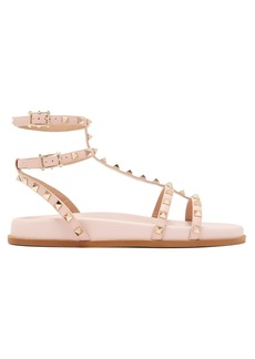 Valentino Submerge Rockstud leather sandals