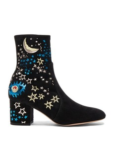 Valentino Suede Astro Couture Boot