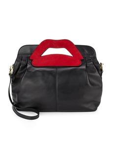 VALENTINO GARAVANI Suede Shoulder Bag
