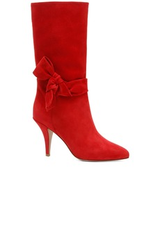 Valentino Suede Side Bow Boots