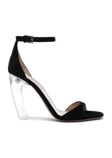 Valentino Suede Twinkles Ankle Strap Sandals