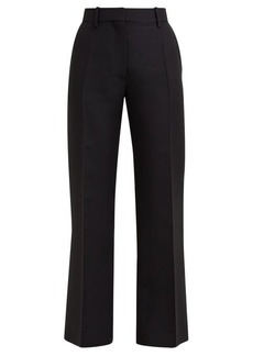 Valentino Tailored virgin-wool blend trousers