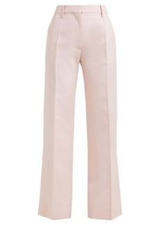 Valentino Tailored virgin wool-blend trousers