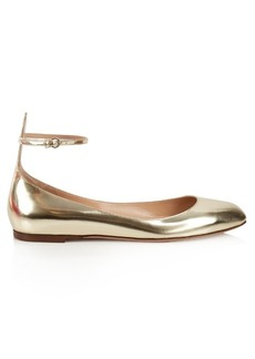 Valentino Tan-Go leather flats