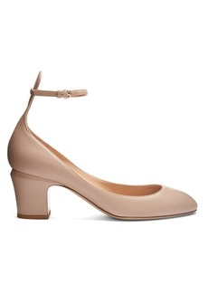 Valentino Tan-Go leather pumps