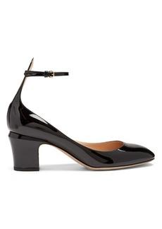 Valentino Tan-Go leather pumps