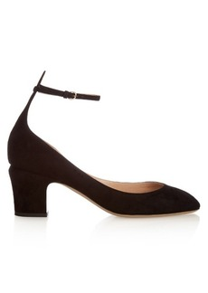 Valentino Tan-Go suede pumps