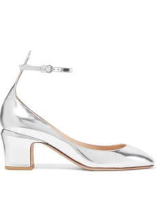 Valentino Tango mirrored-leather pumps