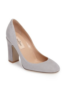 Valentino Tango Rounded Toe Pump (Women)