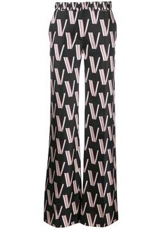 Valentino logo straight-leg trousers