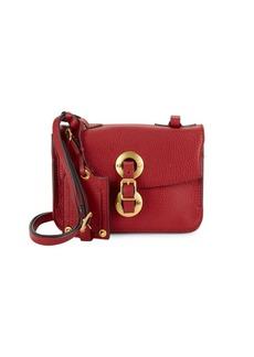 Valentino Garavani Textured Leather Crossbody Bag