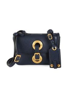 VALENTINO GARAVANI Textured Leather Shoulder Bag