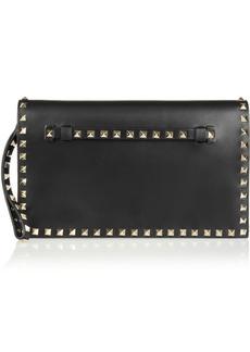 Valentino Garavani The Rockstud Leather Clutch