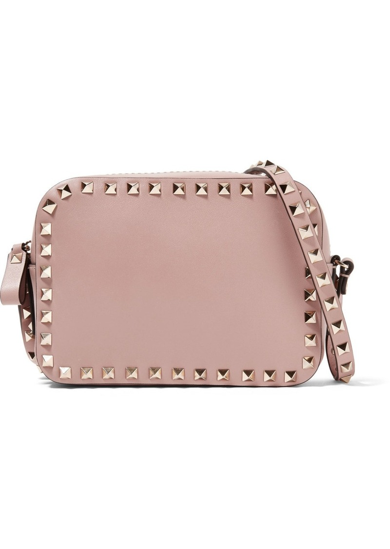 406285c21bb Valentino Valentino Garavani The Rockstud Small Leather Shoulder Bag ...