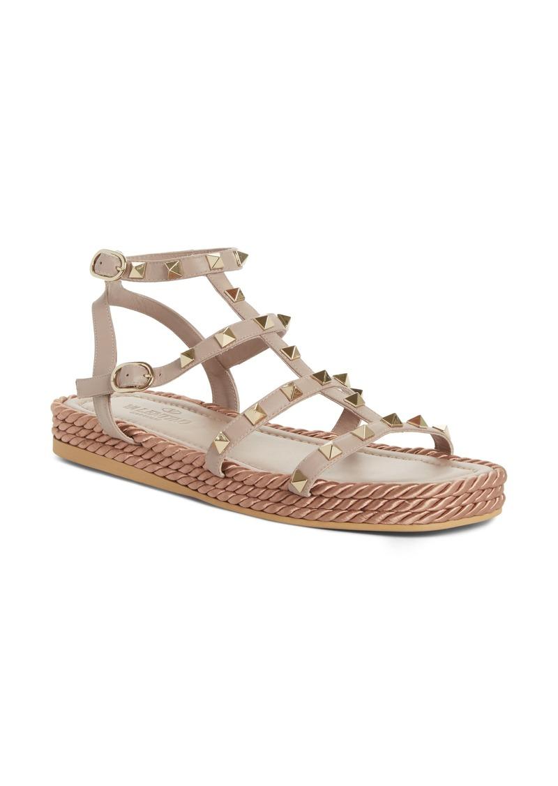 dc3605283 Valentino VALENTINO GARAVANI Torchon Cage Espadrille (Women)   Shoes