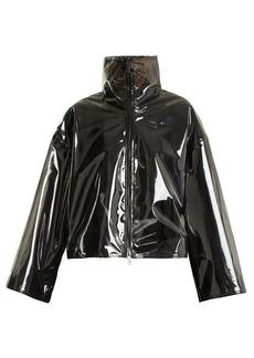 Valentino Translucent zip-through jacket