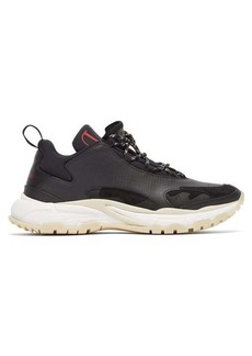 Valentino Trekking leather and neoprene trainers