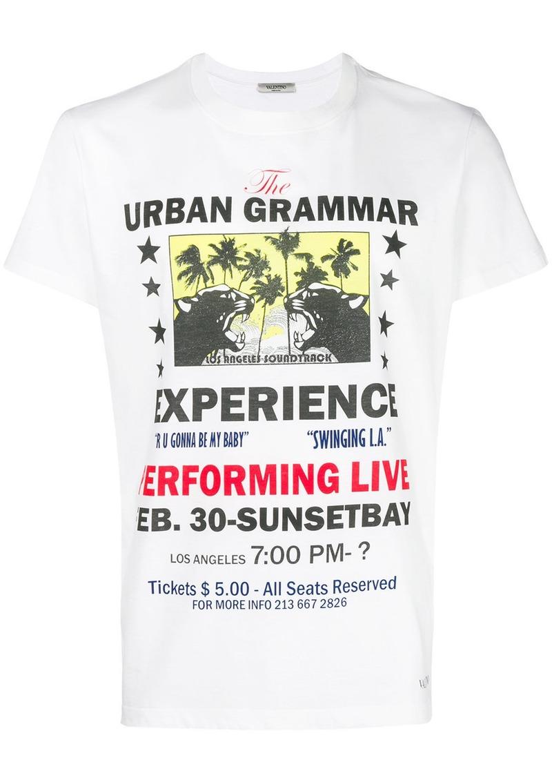 Valentino Urban Grammar print T-shirt