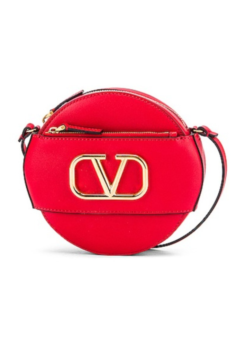 Valentino VLogo Circle Crossbody Bag