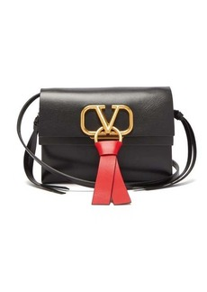 Valentino V-Ring leather cross-body bag