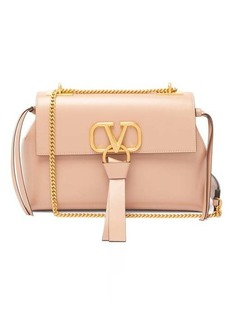 Valentino V-ring small leather shoulder bag