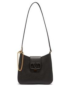 Valentino V-Sling small grained-leather shoulder bag
