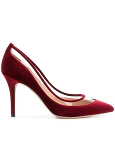Valentino Valentino Garavani Glassglow pumps - Red