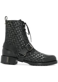 Valentino Valentino Garavani Rockstud combat boots - Black
