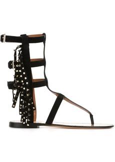 Valentino Valentino Garavani Rockstud gladiator sandals - Black