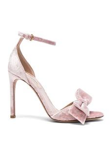 Valentino Velvet Bow Heels